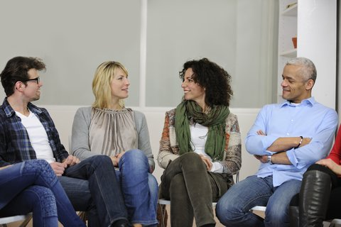 http://www.dreamstime.com/stock-image-group-discussion-therapy-image23050411